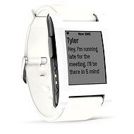 Pebble Smartwatch bílé