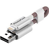 PhotoFast MemoriesCable Gen3 64GB stříbrný