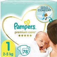 PAMPERS Premium Care vel. 1 Newborn (88 ks)