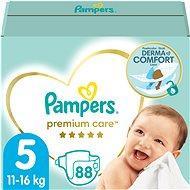 PAMPERS Premium Care vel. 5 Junior (88 ks) - měsíční zásoba