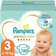PAMPERS Premium Care vel. 3 Midi (120 ks) - měsíční zásoba