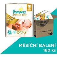 PAMPERS Premium Care vel. 2 Mini (160ks) - měsíční zásoba