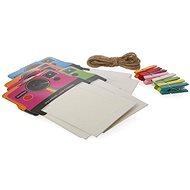 """Rámeček Polaroid na instantní fotografie 2x3"""" barevný mix"""