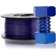 PLASTY MLADEČ 1.75mm PETG 1kg transparentní modrá