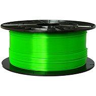 PLASTY MLADEČ 1.75mm PETG 1kg transparentní zelená