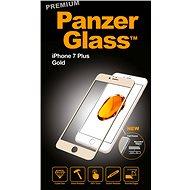 PanzerGlass Premium pro iPhone 7 Plus zlaté