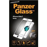 PanzerGlass pro Apple iPhone 6, 6s, 7 Prémiové sklo bílé