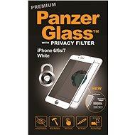 PanzerGlass Premium Privacy pro Apple iPhone 6/6s/7/8 bílé