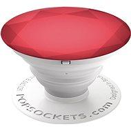 PopSocket Red Metallic Diamond