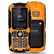 MyPhone Hammer Plus oranžovo-černý