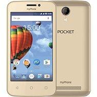 MyPhone Pocket zlatý