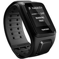 TomTom GPS hodinky Runner 2 Cardio + Music (L), černá/antracit