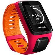 TomTom GPS hodinky Runner 3 Cardio + Music (S) růžovo-oranžový