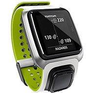 TomTom GPS hodinky Golfer bílo-zelené