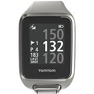 TomTom GPS hodinky Golfer 2 (S) světle šedé