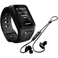 TomTom GPS hodinky Spark Fitness Music (S), černá + bluetooth sluchátka