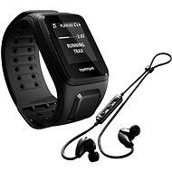 TomTom GPS hodinky Spark Fitness Music (L), černá + bluetooth sluchátka