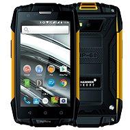 MyPhone Hammer Iron 2 oranžovo-černá