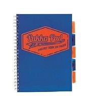 PUKKA PAD Project Book Neon A4 linkovaný, modrý