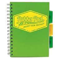 PUKKA PAD Project Book Neon A5 čtverečkovaný, zelený