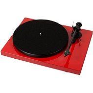 Pro-Ject Debut Carbon Phono USB + DC OM10 - červený