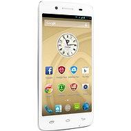 Prestigio MultiPhone 5507 DUO bílý