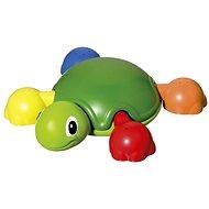 Vodní želva s želvičkami