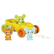 Sýrové autíčko s myškami