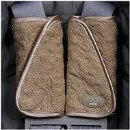 Návleky na popruhy autosedačky - Khaki