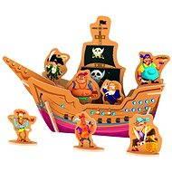 Dřevěné 3D Puzzle - Piráti
