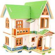 Dřevěné 3D Puzzle - Katie domeček pro panenky