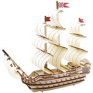 Dřevěné 3D Puzzle - Dřevěný koráb Victory