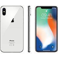 APPLE iPhone X 256GB Stříbrný