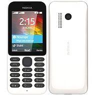 Nokia 215 bílá Dual SIM