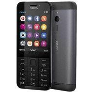 Nokia 230 černá Dual SIM - rozbaleno, týden testováno, plná záruka!!!