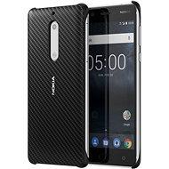 Nokia Carbon Fibre Design Case CC-803 for Nokia 5 Onyx Black