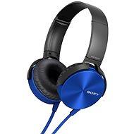 Sony MDR-XB450AP modrá