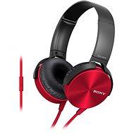 Sony MDR-XB450AP červená