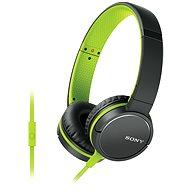 Sony MDR-ZX660APG, zelená