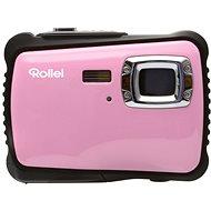 Rollei Sportsline 64 Růžovo-černý + brašna zdarma