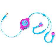 RETRAK audio NEON Sport modro-růžová