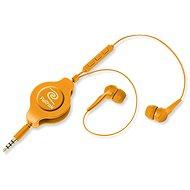 RETRAK Earbuds iPhone Controls oranžová