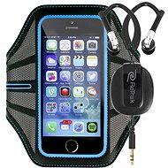 RETRAK Sport Armband Large modré + sportovní sluchátka do uší