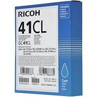 Ricoh GC41CL azurový