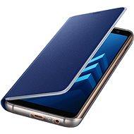 Samsung Neon Flip Cover Galaxy A8 (2018) EF-FA530P Blue