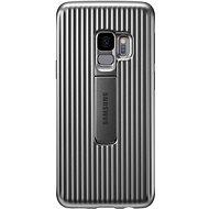 Samsung Galaxy S9+ Protective Standing Cover stříbrný