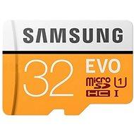 Samsung MicroSDHC 32GB EVO UHS-I U1 + SD adaptér