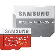 Samsung micro SDXC 256GB EVO Plus Class 10 UHS-I + SD adaptér