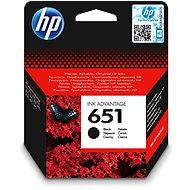 HP C2P10AE č. 651 černá