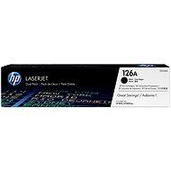 HP CE310AD black č. 126A dualpack